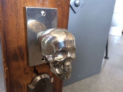 Skull Door Knobs by Metal Skull Door Knobs Skull Astic Enrichment