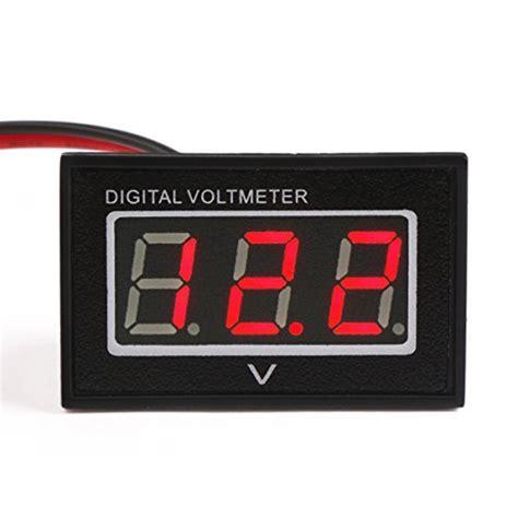 Voltmeter Digital Luminos Waterproof top best 5 cheap battery for sale 2016 review product boomsbeat