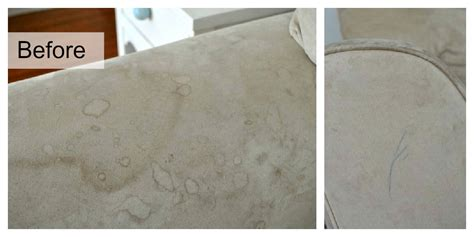water stain on suede couch how to clean microfiber with professional results classy