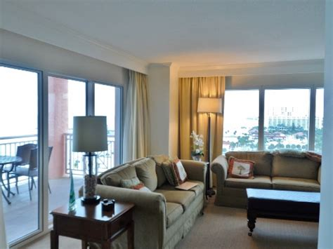 Hyatt Clearwater 2 Bedroom Suite with a suite balcony like this who needs closets heels