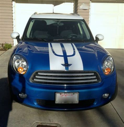 how petrol cars work 2011 mini countryman electronic valve timing sell used 2011 mini cooper countryman blue one owner suv sport 4door clear title automatic in