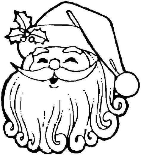drawing of santa claus az coloring pages