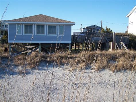 house rentals in folly sc charming oceanfront home homeaway folly