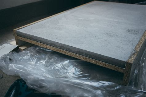 arbeitsplatte beton selber machen betonplatten selber machen rheumri