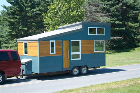 Modern Tiny Homes modern and minimalist trailer house from liberation