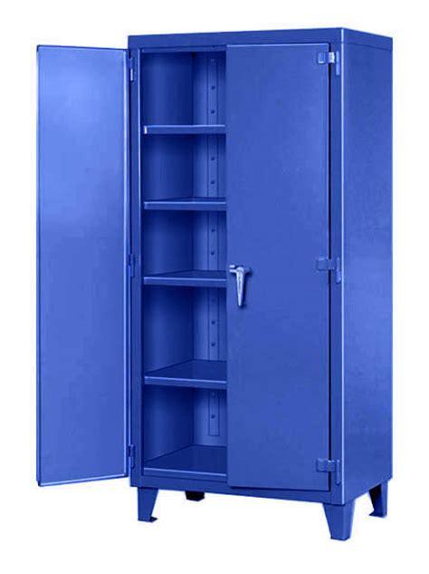 warehouse announces big blue  bin narrow wall