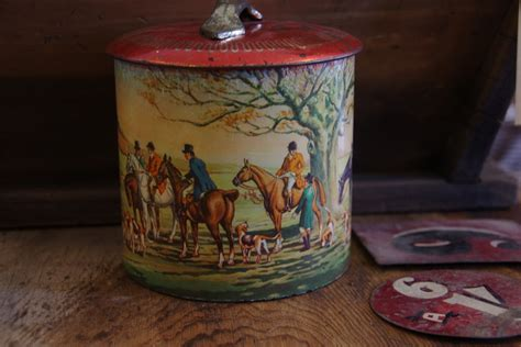 decorative tea tins decorative tea tin stalking cat antiques macedon