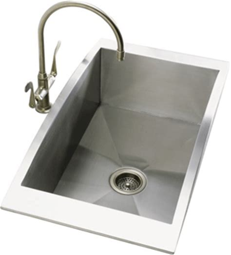 stainless steel kitchen sink top mount stainless steel