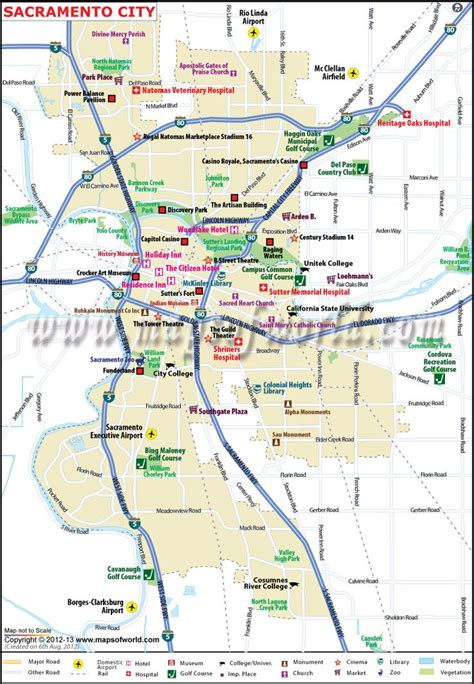 map of sacramento area 97 best california maps images on city maps