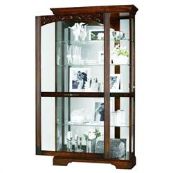 Curio Cabinet Display Howard Miller Hartland Display Curio Cabinet 680445