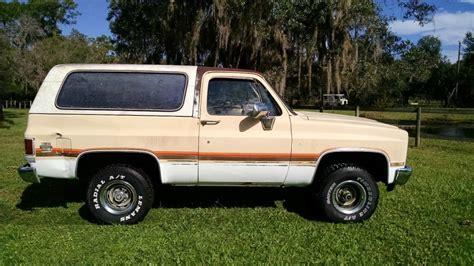 Sale Blazer 1986 chevy k5 blazer for sale