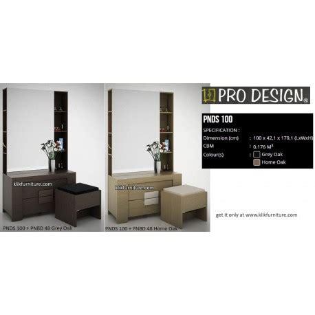 Meja Rias Pro Design pnds 100 meja rias minimalis pro design new model promo