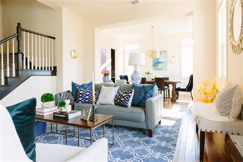 light blue couch living room