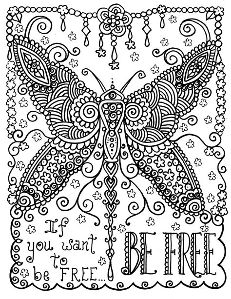 printable coloring quote pages for adults inspirational quotes coloring pages