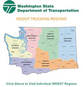 Washington Dot Traffic Map by Wsdot Trucking Regions Baum Hedlund