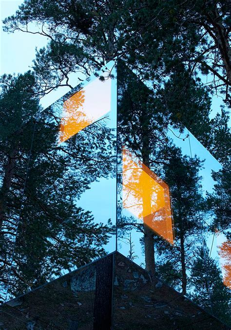 tree hotel sweden mesmerising mirrored mood mirrored buildings