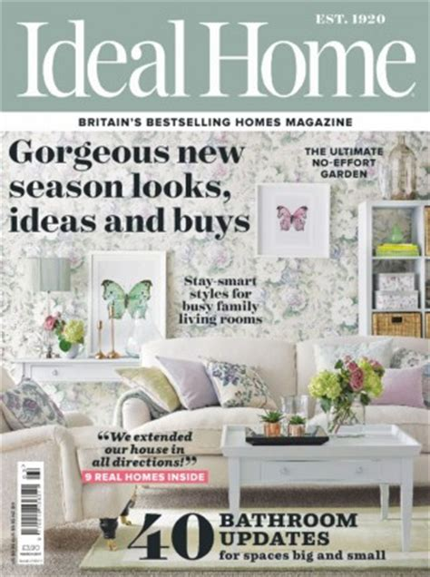 home magazine subscriptions ideal home magazine subscription let s subscribe