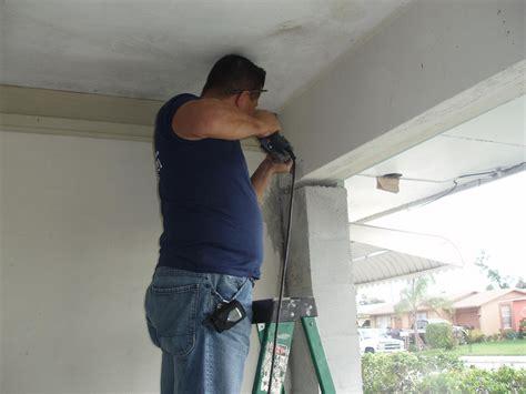 How To Install Garage Door By Yourself Theydesign Net Overhead Door Installation