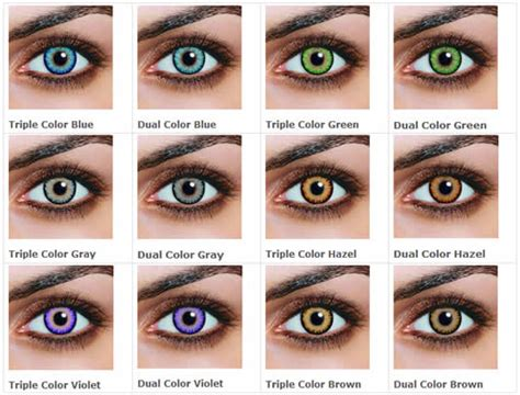 colored contacts no prescription guide to non prescription colored contacts color me contacts