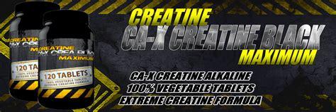 creatine for vegans ca x creatine black maximum 120 600 tablets creatine