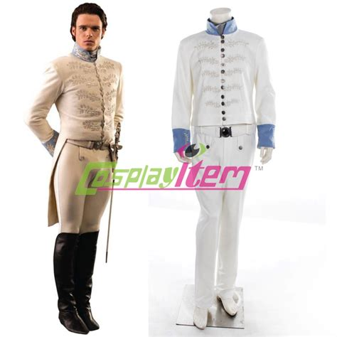 2015 newest customized cinderella prince costume