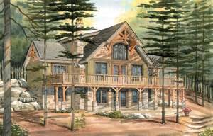 carleton a timber frame cabin walkout basement