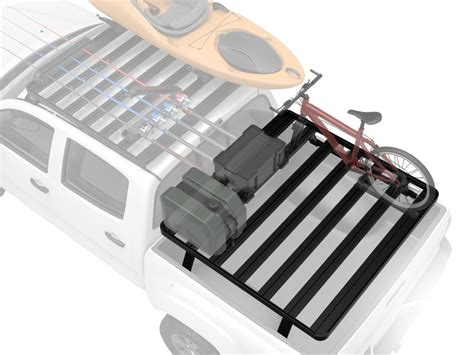 slimline ii pick up truck load bed rack kit nissan