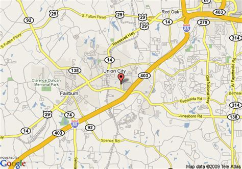 Garden City Ga by Map Of Garden Inn Union City Union City