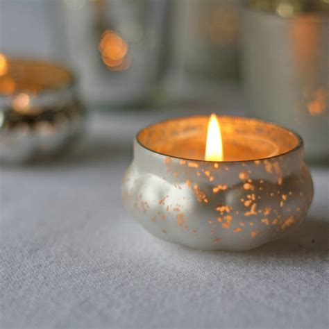 tea lights mini mercury silver tea light holder by the wedding of my