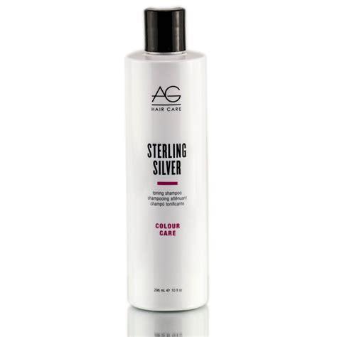 ag hair cosmetics sterling silver toning shoo 33 8 oz ag sterling silver toning shoo sleekshop com