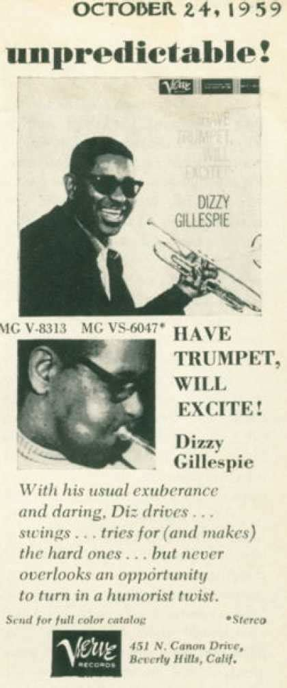 Gillespie Records Vintage Advertisements Of The 1950s Page 18