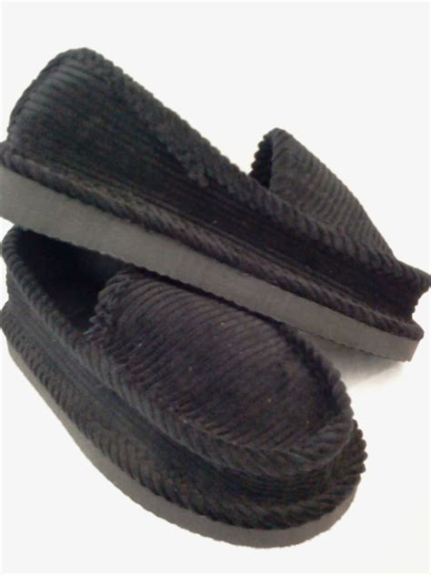 house shoe boots black corduroy house shoes infant toddler kid size 3 4 5 6 7 8 9 10 11 12 13 ebay