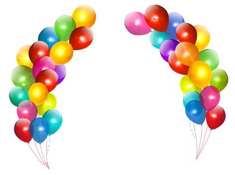 colorful balloons colorful balloons decor transparent png clipart i want