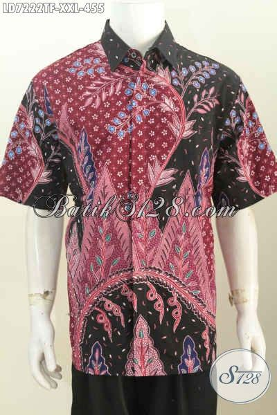 Kemeja Hem Jumbo hem batik jumbo kemeja batik pria gemuk bahan kwalitas tinggi motif proses tulis model