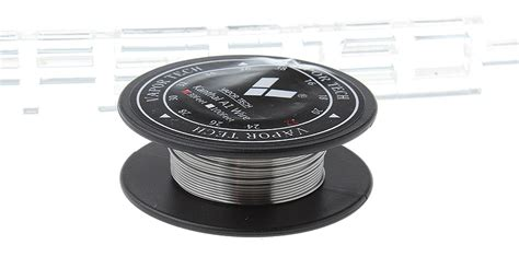Vaportech Kanthal A1 Wire 10m 2 81 authentic vapor tech kanthal a1 heating wire for rba atomizers 30 22 awg 0 64mm