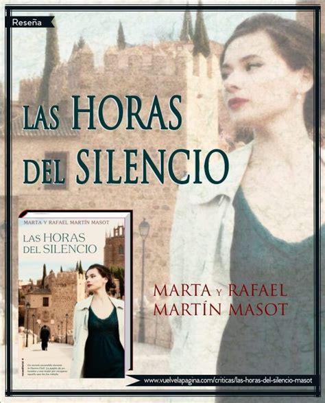 libro silencio conferencias y las horas del silencio marta y rafael mart 237 n masot