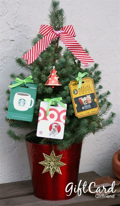 gift card girlfriend s gift card tree i tied the gift