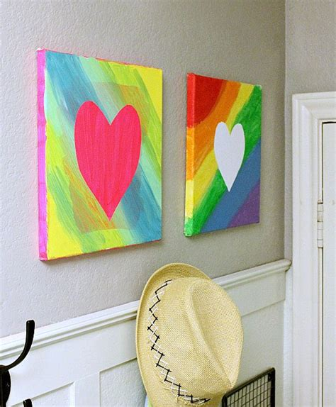 painting ideas for kids easy canvas art 9 cool ways kids can turn a blank canvas