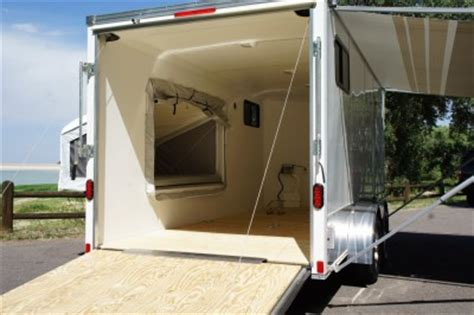 Motorcycle Sleeper Trailer by In Stock 7 X 16 V Nose Enclosed Motorcycle Cargo Trailer Popout Sleeper Windows Ebay