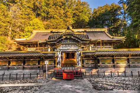imagenes nikko japon toshogu shrine nikko japan stock image image of rinno