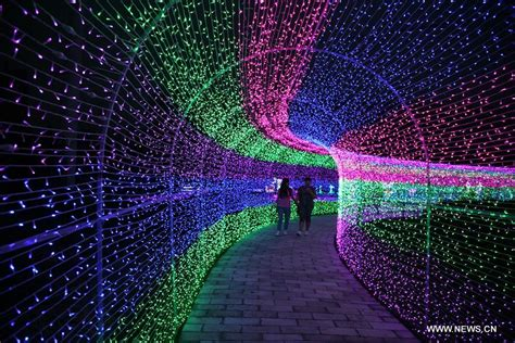 Led Light Festival Opens In N China China Org Cn Led Lights China