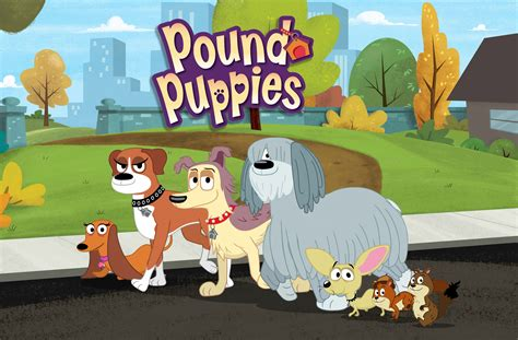 pound puppies tv show hub unleashes new pound puppies episodes animation magazine