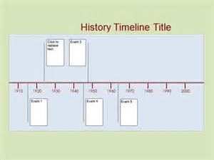 template for history history timeline 6 free for pdf word sle
