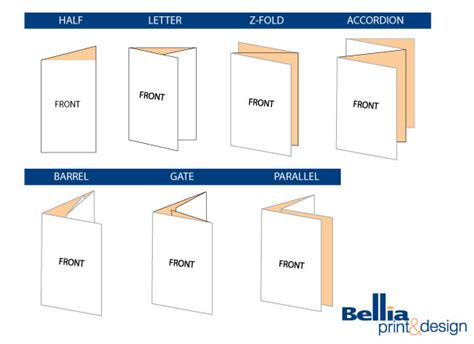 How To Make A Brochure Out Of Paper - printed brochures from bellia printing of south jersey