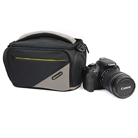 Antigores Nikon D7100 High Quality evecase black large dslr carrying bag with shoulder for nikon dslr d610 d810
