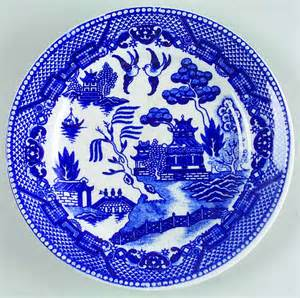 japan china blue willow bread butter plate 6967526 ebay