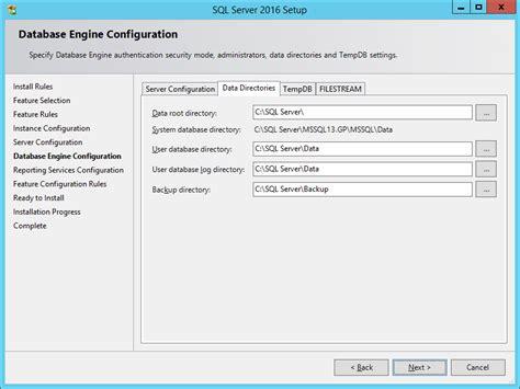 Microsoft Sql Server how to install microsoft sql server 2016 installing sql