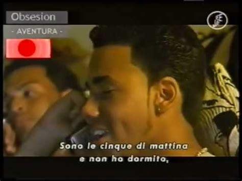 testo obsesion aventura obsesion con testo in italiano