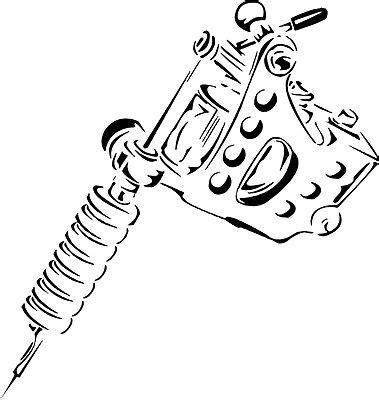 tattoo gun breakdown tattoo machine clipart 18