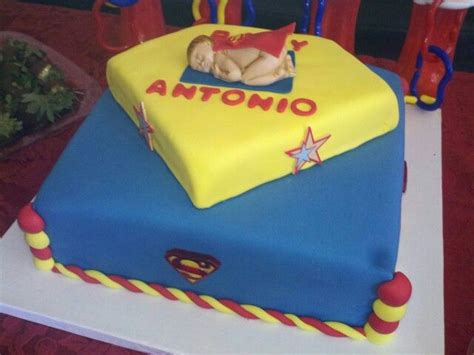 Superman Baby Shower by Superman Baby Shower Cake Stuff To Try